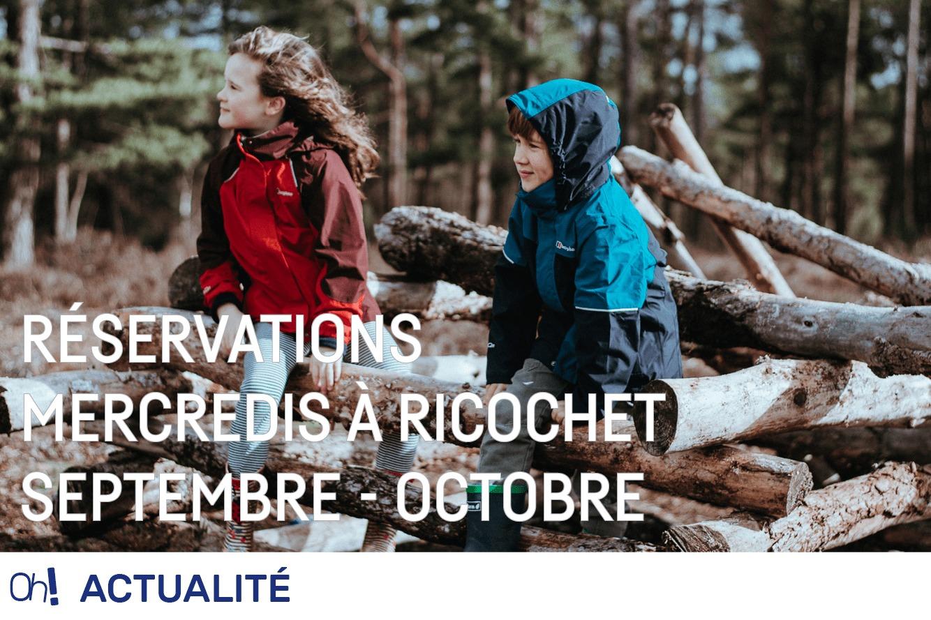 Réservations septembre – octobre