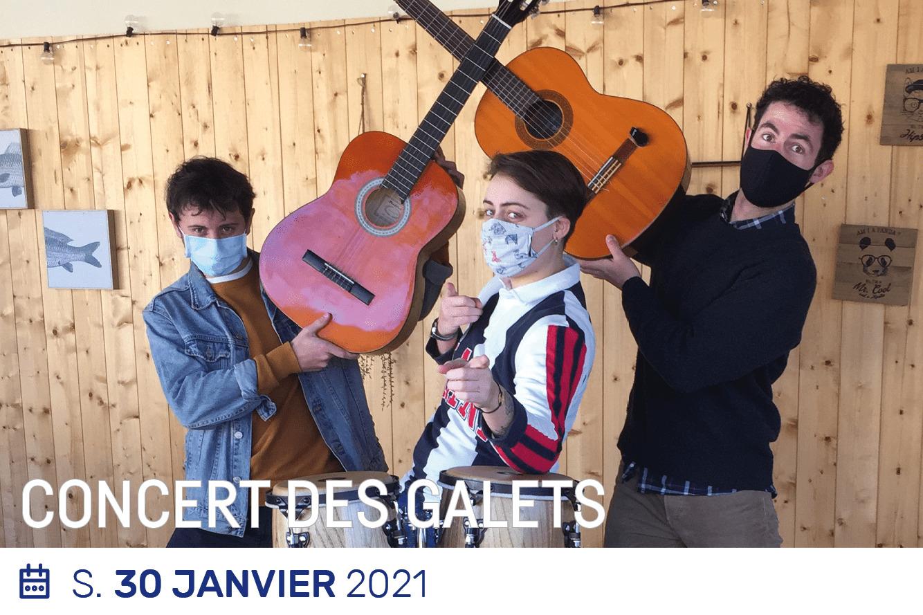 Concert Les Galets